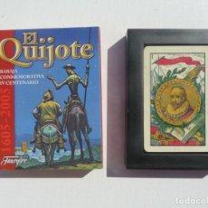 Barajas de cartas: BARAJA CARTAS PRECINTADA EL QUIJOTE, IV CENTENARIO, FOURNIER. Lote 194959627