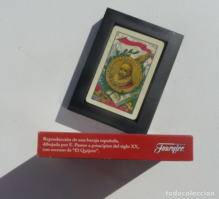 Barajas de cartas: BARAJA CARTAS PRECINTADA EL QUIJOTE, IV CENTENARIO, FOURNIER - Foto 4 - 194959627