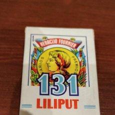 Barajas de cartas: MINI JUEGO BARAJAS 131 FOURNIER. Lote 194971755