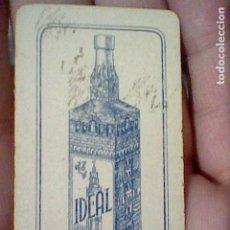 Barajas de cartas: CAZALLA SIERRA IDEAL GABRIEL LOPEZ CEPERO UNA CARTA DOMINO NO EL JUEGO SOLO FICHA BLANCA TRES. Lote 194979887