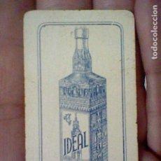 Barajas de cartas: CAZALLA SIERRA IDEAL GABRIEL LOPEZ CEPERO UNA CARTA DOMINO NO EL JUEGO SOLO FICHA TRES DOBLE. Lote 194979907