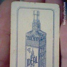Barajas de cartas: CAZALLA SIERRA IDEAL GABRIEL LOPEZ CEPERO UNA CARTA DOMINO NO EL JUEGO SOLO FICHA CUATRO TRES. Lote 194979945