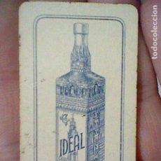 Barajas de cartas: CAZALLA SIERRA IDEAL GABRIEL LOPEZ CEPERO UNA CARTA DOMINO NO EL JUEGO SOLO FICHA BLANCA CUATRO. Lote 194979973