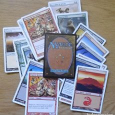 Barajas de cartas: 22 CARTAS DE LA COLECCIÓN MAGIC THE GATHERING . Lote 195005398