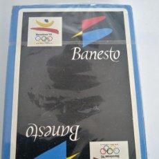 Barajas de cartas: BARAJA DE CARTAS - BANESTO / BARCELONA '92 - NAIPES FIBRA MARFIL NUEVO SIN ABRIR. Lote 195009781