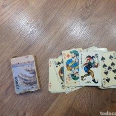 Barajas de cartas: ANTIGUAS CARTA DE POKER DE LAS AEROLÍNEAS CONAIR. Lote 195016561