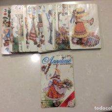 Mazzi di carte: BARAJA CARTAS ANNELIESE LAS 4 ESTACIONES - FOURNIER. Lote 195040640
