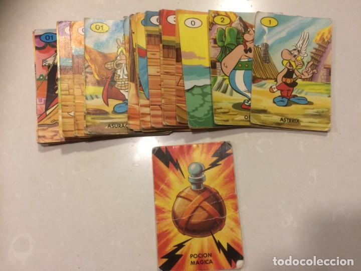 BARAJA EL JUEGO DE LA CIZAÑA - ASTERIX - FALTA UNA CARTA (Juguetes y Juegos - Cartas y Naipes - Barajas Infantiles)