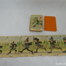 Mazzi di carte: M69 BARAJA LAS FAMILIAS, EN FRANCÉS. AÑOS 50-60. INCOMPLETA.. Lote 195044112
