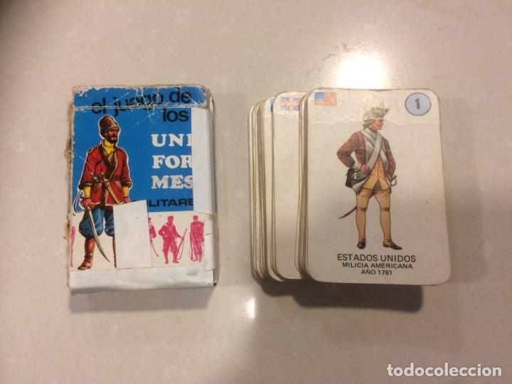 Barajas de cartas: Lote 4 barajas usadas: Parejas del mundo, Desfile Disney, Uniformes militares, Erase una vez el homb - Foto 5 - 195105747