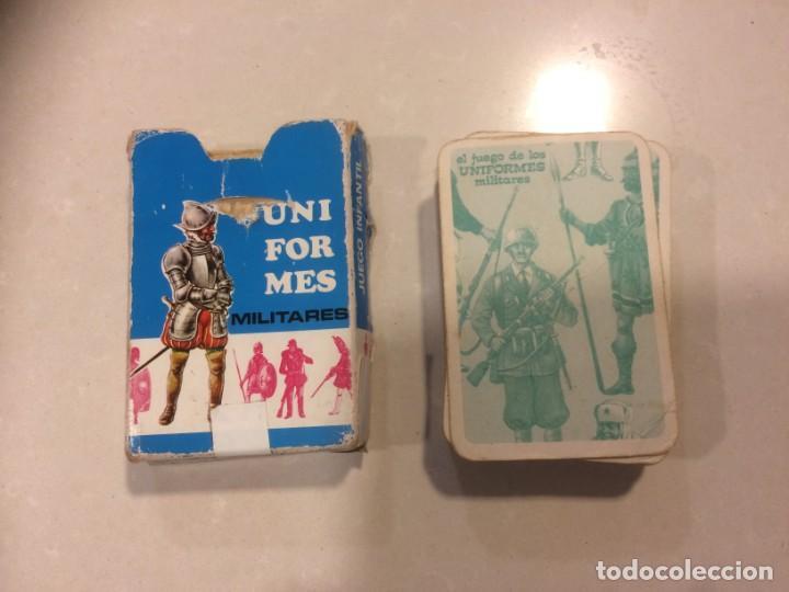 Barajas de cartas: Lote 4 barajas usadas: Parejas del mundo, Desfile Disney, Uniformes militares, Erase una vez el homb - Foto 6 - 195105747
