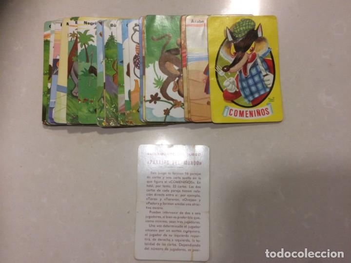 Barajas de cartas: Lote 4 barajas usadas: Parejas del mundo, Desfile Disney, Uniformes militares, Erase una vez el homb - Foto 7 - 195105747