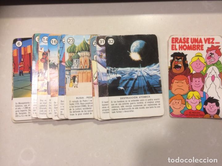 Barajas de cartas: Lote 4 barajas usadas: Parejas del mundo, Desfile Disney, Uniformes militares, Erase una vez el homb - Foto 9 - 195105747