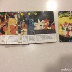 Barajas de cartas: BARAJA DE CARTAS INCOMPLETA - BANNER Y FLAPI - FOURNIER. Lote 195106170