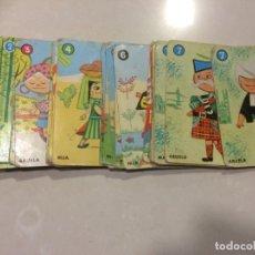 Barajas de cartas: BARAJA DE CARTAS INCOMPLETA - EL JUEGO DE LAS RAZAS. Lote 195106402
