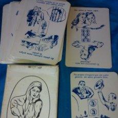 Barajas de cartas: TAROT ORACULO BARAJA GITANA MUY RARA. Lote 195137301