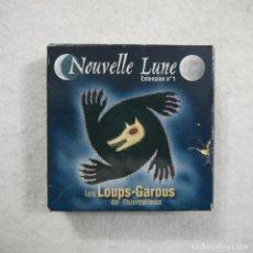 Barajas de cartas: JUEGO DE CARTAS NOUVELLE LUNE EXTENSIÓN N.º 1 + LES LOUPS-GAROUS. Lote 195138523
