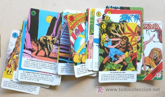 Barajas de cartas: BARAJA FOURNIER - TARZAN - 32 cartas - Vell i Bell - Foto 2 - 195144063