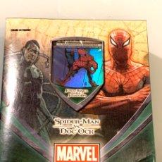 Barajas de cartas: MARVEL SPIDERMAN VS DOC OCK TRADING CARD GAME. Lote 195146773