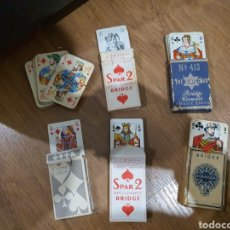 Barajas de cartas: BARAJAS ANTIGUAS DE POKER. Lote 195148732