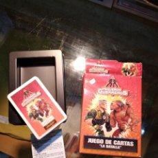 Barajas de cartas: FOURNIER, JUEGO DE CARTAS DE LA COL. PEQUEÑOS GUERREROS, LA BATALLA, 1998. Lote 195151910