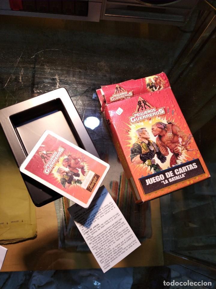 Barajas de cartas: Fournier, Juego de cartas de la Col. Pequeños Guerreros, La Batalla, 1998 - Foto 2 - 195151910