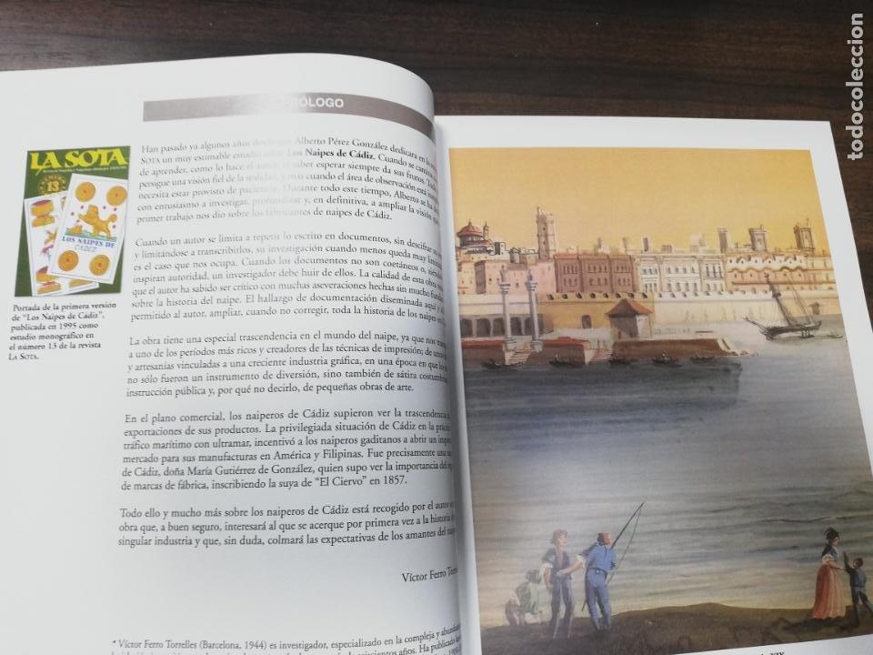 Barajas de cartas: LOS NAIPES DE CADIZ. 1ª EDICION. EJEMPLAR Nº 44 DE 100. ALBERTO PEREZ GONZALEZ. 2015. - Foto 6 - 195187457