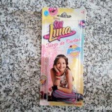 Barajas de cartas: SOY LUNA JUEGO DE CARTAS EL PUMBA. DISNEY. PRECINTADA. Lote 195191443