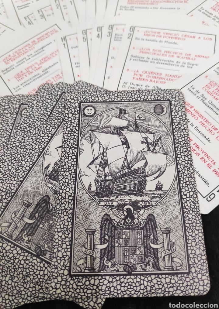Barajas de cartas: Baraja Historia de España 1940 - Foto 3 - 195199335