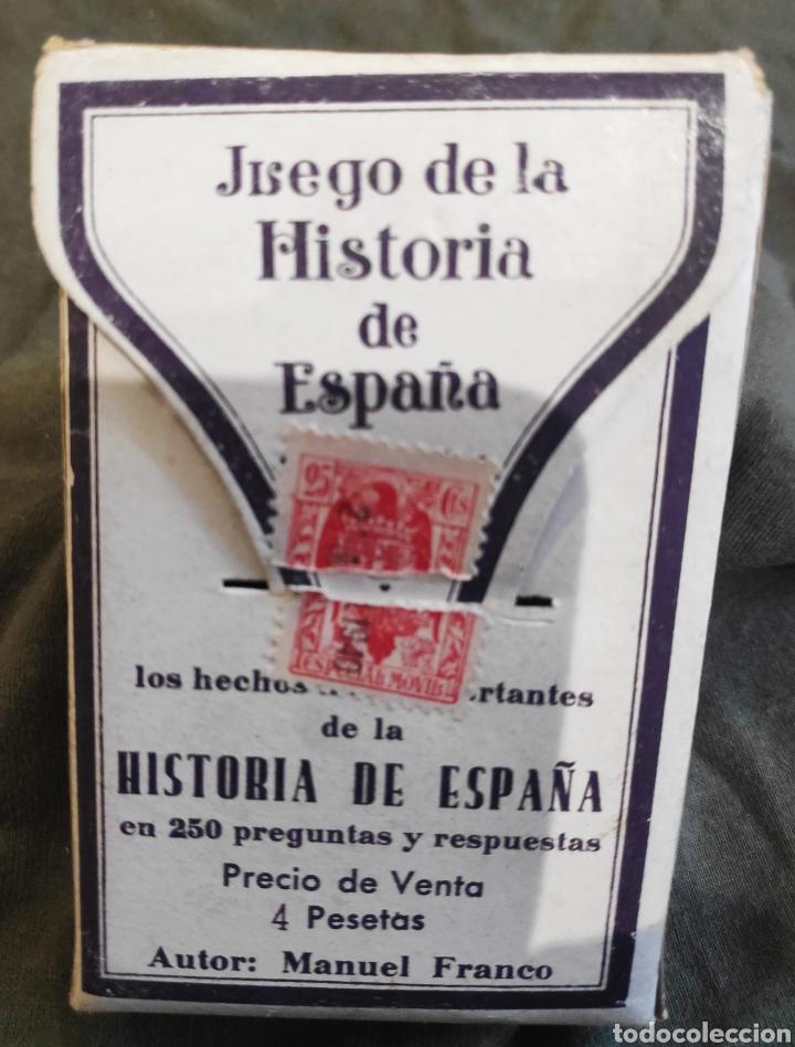 BARAJA HISTORIA DE ESPAÑA 1940 (Juguetes y Juegos - Cartas y Naipes - Otras Barajas)
