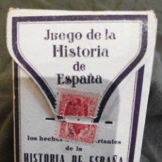Barajas de cartas: BARAJA HISTORIA DE ESPAÑA 1940. Lote 195199335