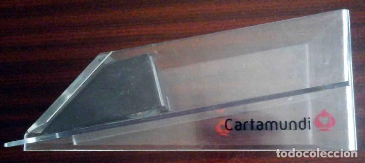 Barajas de cartas: Repartidor dispensador de cartas cartamundi metacrilato + Baraja poker - Foto 3 - 195200910