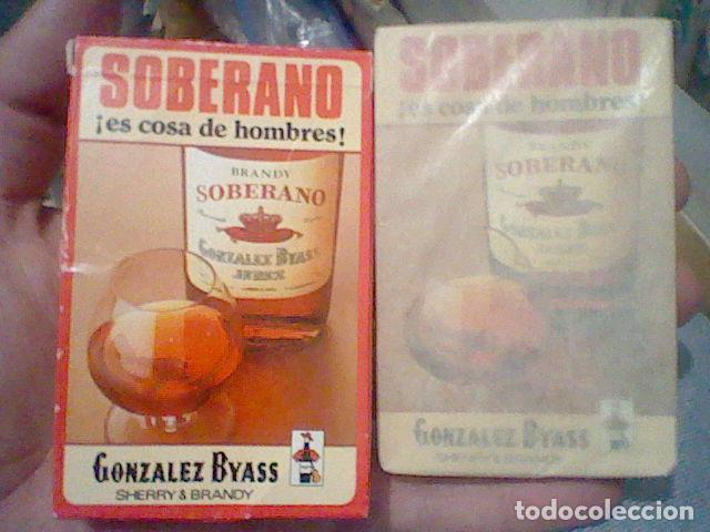 SOBERANO BARAJA PROMOCIONAL BRANDY PRECINTADA GONZALEZ BYASS FOURNIER SPAIN (Juguetes y Juegos - Cartas y Naipes - Otras Barajas)