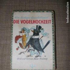 Barajas de cartas: ANTIGUO JUEGO DE CARTAS INFANTILES ALEMAN DIE VOGELHOCHZEIT (LA BODA DE LOS PAJAROS). Lote 195216146