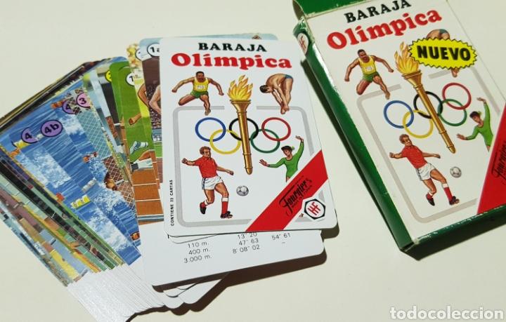 BARAJA OLIMPICA - FOURNIER - MAGNIFICO ESTADO - CAR174 (Juguetes y Juegos - Cartas y Naipes - Otras Barajas)