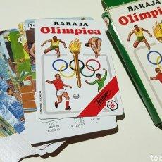 Barajas de cartas: BARAJA OLIMPICA - FOURNIER - MAGNIFICO ESTADO - CAR174. Lote 195239878