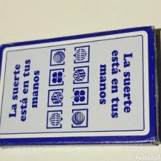 Barajas de cartas: BARAJA ESPAÑOLA FOURNIER - LOTERIAS - CAR174. Lote 195241195