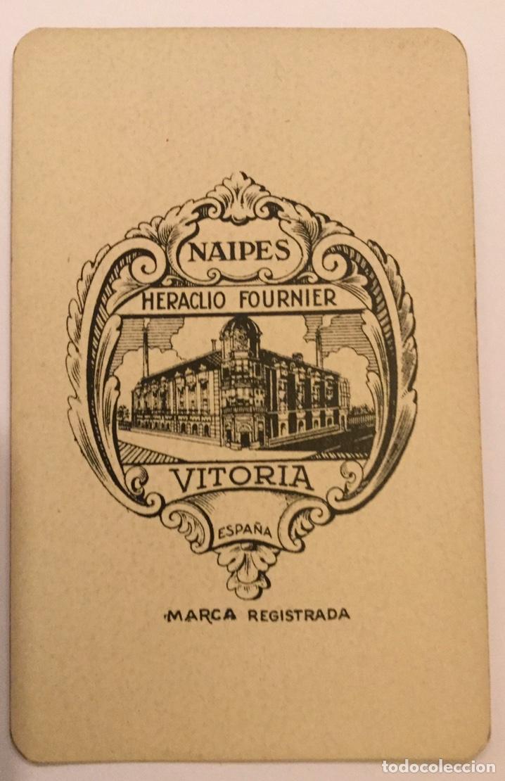 Barajas de cartas: Antigua Baraja Española Cartas Heraclio fournier Vitoria Nº 55 Naipes transparentes 50 cartas - Foto 3 - 195242795
