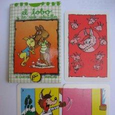 Barajas de cartas: BARAJA CARTAS. JUEGO DE PAREJAS: EL LOBO. NAIPES COMAS.. Lote 195302325