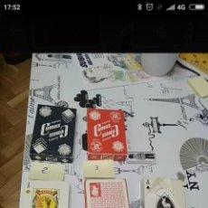 Barajas de cartas: BARAJAS NAIPE CARTAS COMAS. GAGGIA, SONY, BONKA. Lote 195307336