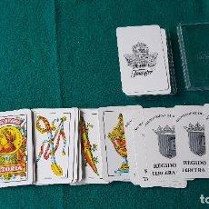 Barajas de cartas: BARAJA ESPAÑOLA FOURNIER AJUNTAMENT DE PATERNA REGIDORIA TERCERA EDAD - COMPLETA. Lote 195321782