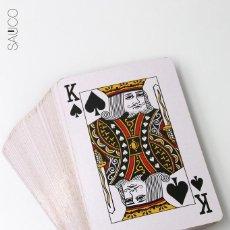 Barajas de cartas: BARAJA DE POKER GIGANTE. Lote 195376396