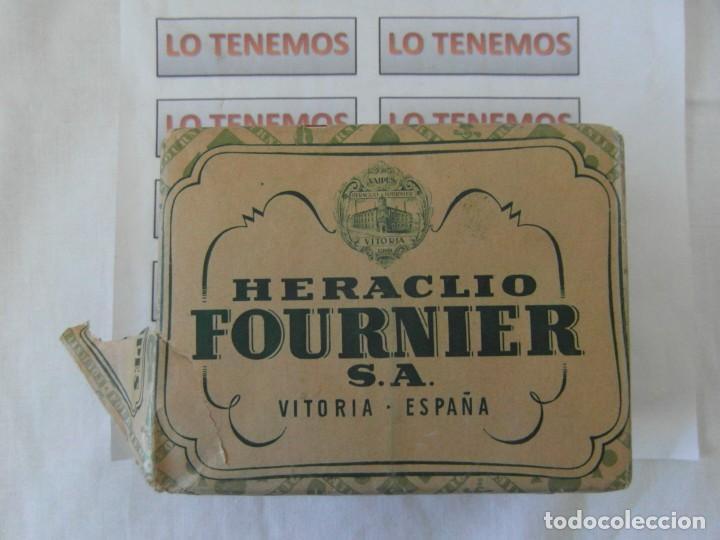 ANTIGUO PAQUETE DE NAIPES TITI HERACLIO FOURNIER S.A. VITORIA,CONTIENE 10 PAQUETES DE 40 CARTAS (Juguetes y Juegos - Cartas y Naipes - Baraja Española)