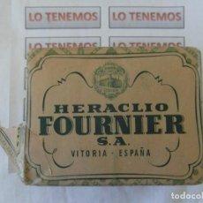 Barajas de cartas: ANTIGUO PAQUETE DE NAIPES TITI HERACLIO FOURNIER S.A. VITORIA,CONTIENE 10 PAQUETES DE 40 CARTAS . Lote 195378542