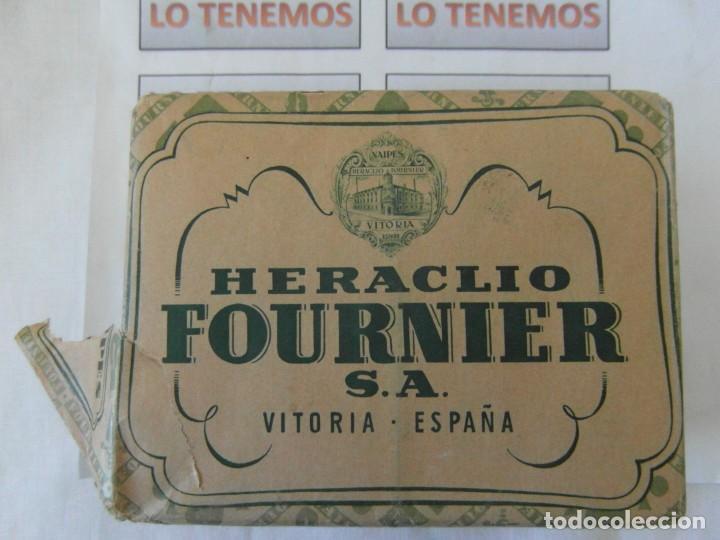 Barajas de cartas: Antiguo paquete de naipes TITI Heraclio Fournier S.A. Vitoria,contiene 10 paquetes de 40 cartas - Foto 2 - 195378542