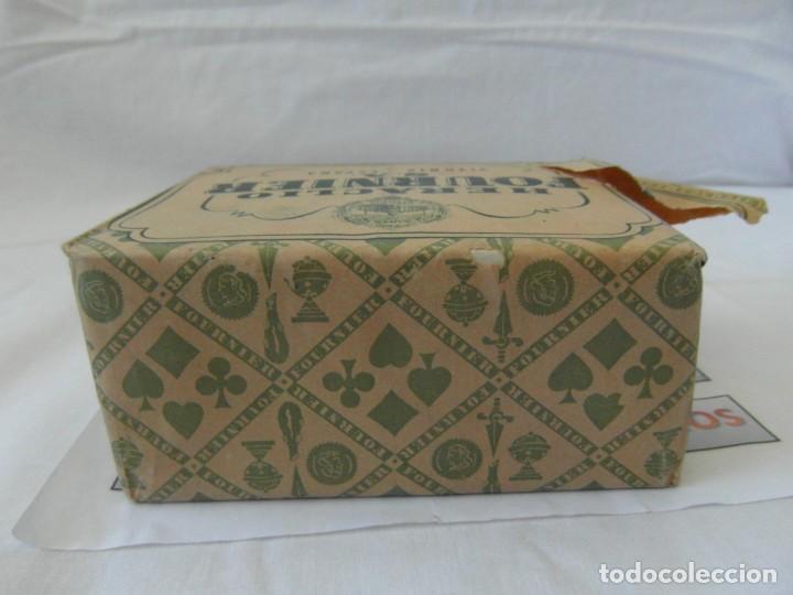 Barajas de cartas: Antiguo paquete de naipes TITI Heraclio Fournier S.A. Vitoria,contiene 10 paquetes de 40 cartas - Foto 5 - 195378542