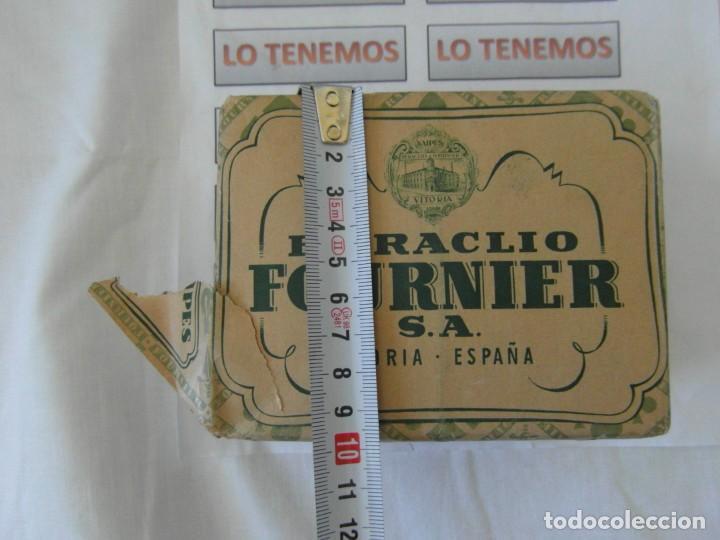 Barajas de cartas: Antiguo paquete de naipes TITI Heraclio Fournier S.A. Vitoria,contiene 10 paquetes de 40 cartas - Foto 11 - 195378542