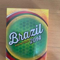 Barajas de cartas: BARAJA PÓKER BRAZIL 2014.. Lote 195478201