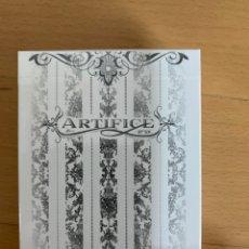 Barajas de cartas: BARAJA PÓKER Y CARTOMAGIA ARTÍFICE BLANCA.. Lote 195478380