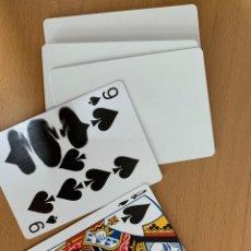 Barajas de cartas: 10 NAIPES GAFF BICYCLE. VARIOS TIPOS.. Lote 195510561